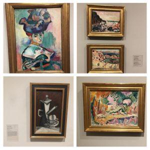 SFMOMA Matisse Picasso Henri MatisseFemme au chapeau Nature morte a cafetière