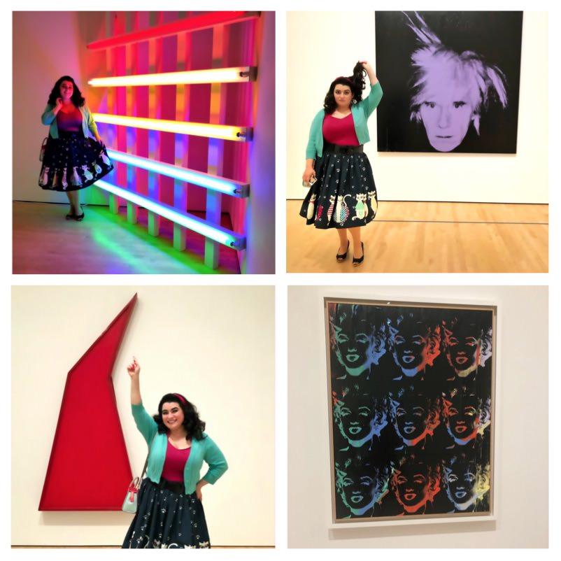 SFMOMA Pop Art Roy Lichtenstein Andy Warhol Yasmina Greco Warhol Marilyn Monroe