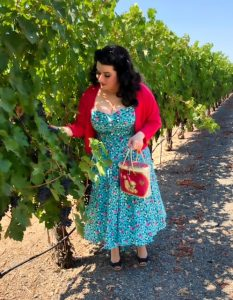 Yasmina Greco Poodle Purse Wine Country Sonoma County