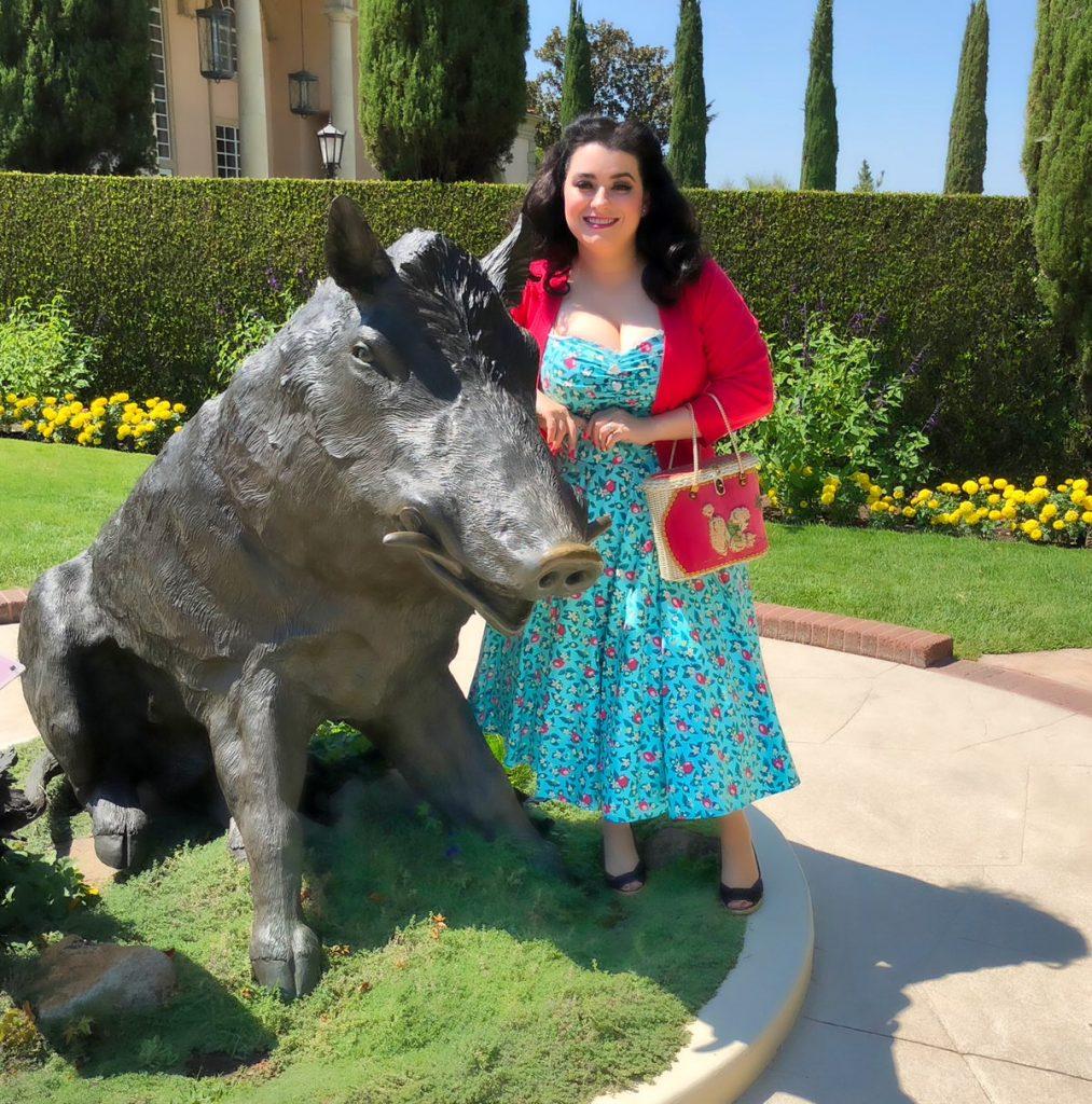 Yasmina Greco Ferrari Carano Garden Sculpture