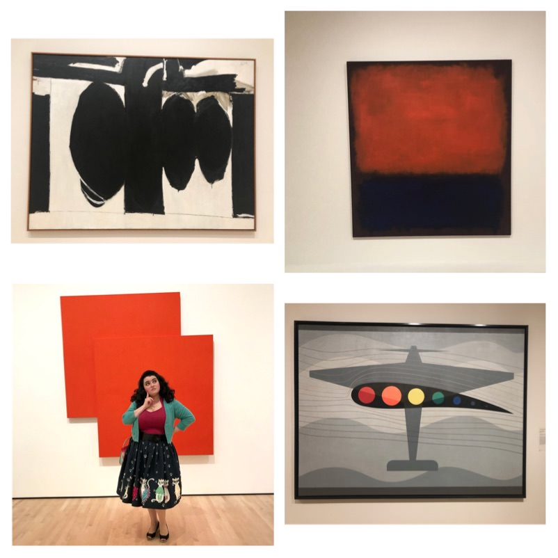 Jackson Pollock Mark Rothko SFMOMA Robert Motherwell Elegy to the Spanish Republic SFMOMA Yasmina Greco