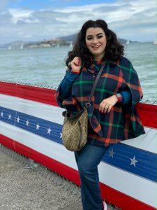 Yasmina Greco San Francisco Fisherman's Wharf Alcatraz Modcloth Cape
