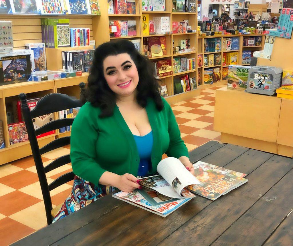 Yasmina Greco Petaluma Copperfield Books