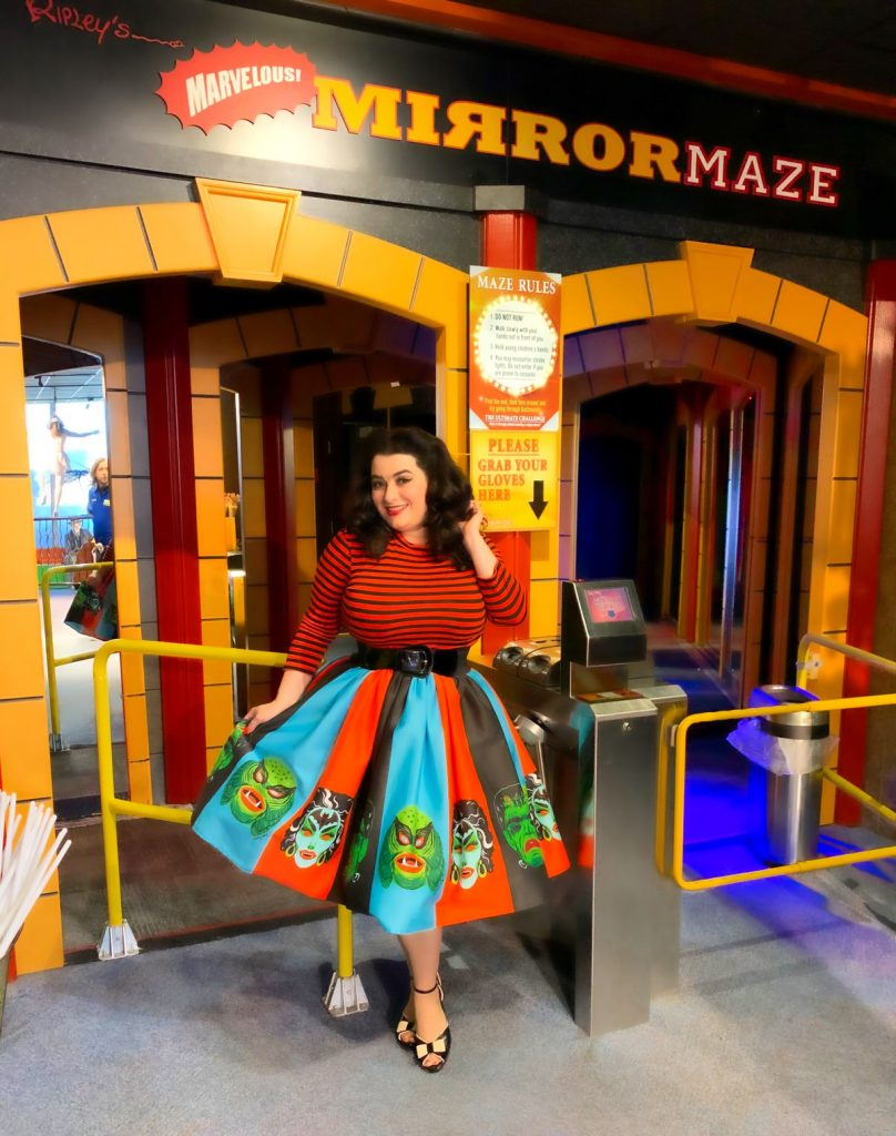 Ripley's Believe It or Not! San Francisco Fisherman's Wharf Yasmina Greco Crazy4Me Mirror Maze