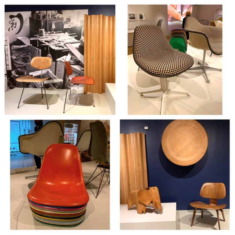 Yasmina Greco - Oakland Museum of California OMCA Fiberglass chair Mid-century modern
