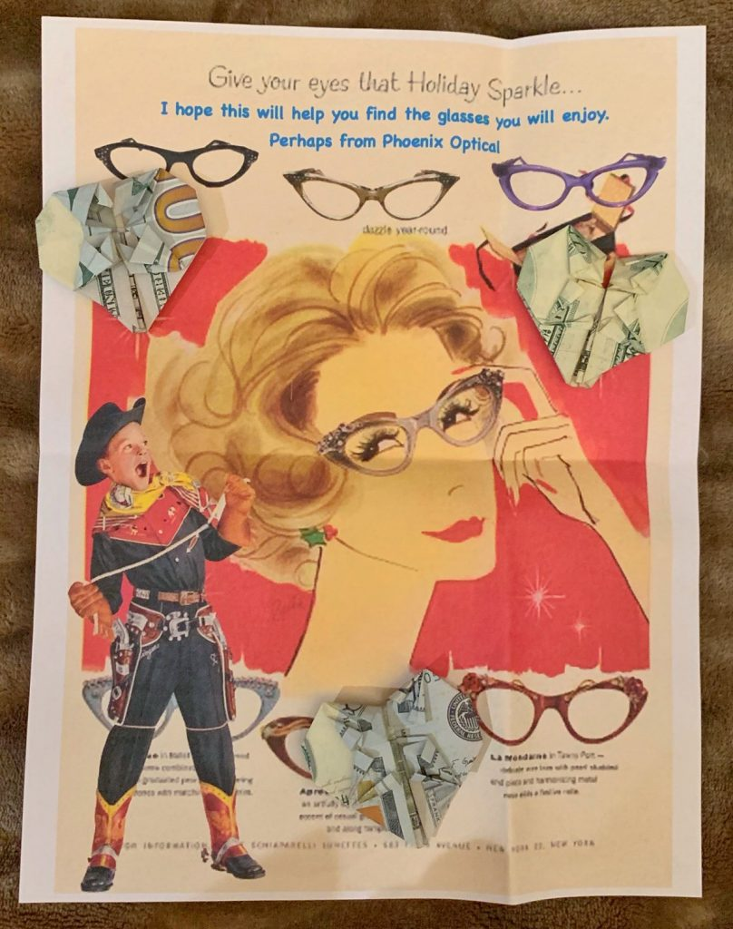 1950s Eyewear Advertisement Gary Greco