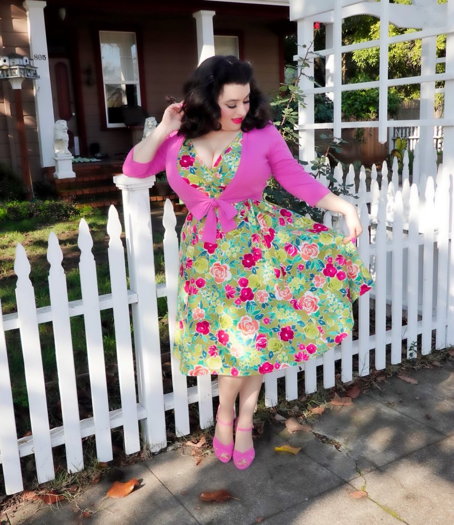 Yasmina Greco Spring Dress Curvy Girl Marie Heart of Haute crazy4me