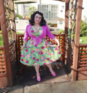 Yasmina Greco Spring Dress Curvy Girl Marie Heart of Haute crazy4me