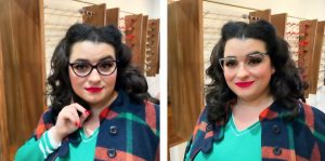Yasmina Greco Phoenix Optical Vintage Eyewear Horn Crazy4Me