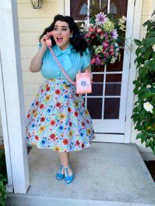 Yasmina Greco Heart of Haute Spring Woodland Daisy Estelle