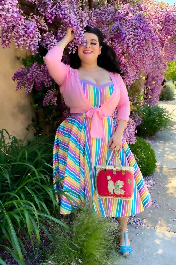 Yasmina Greco Wisteria Rainbow Dress