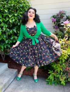 Yasmina Greco Love Ur Look Retro Pinup Dress Crazy4Me 1950s Atomic