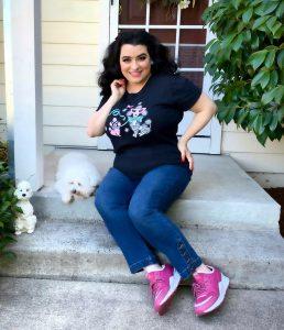 Yasmina Greco Amazing Kitschy Poodle T-Shirt