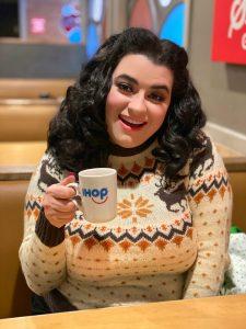 Keil James Patrick KJP Christmas Sweater Yasmina Greco Crazy4Me IHop