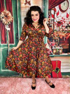 Yasmina Greco Gingerbread Dress