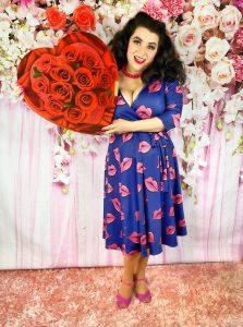 Yasmina Greco Valentines Day Heart Box Chocolates