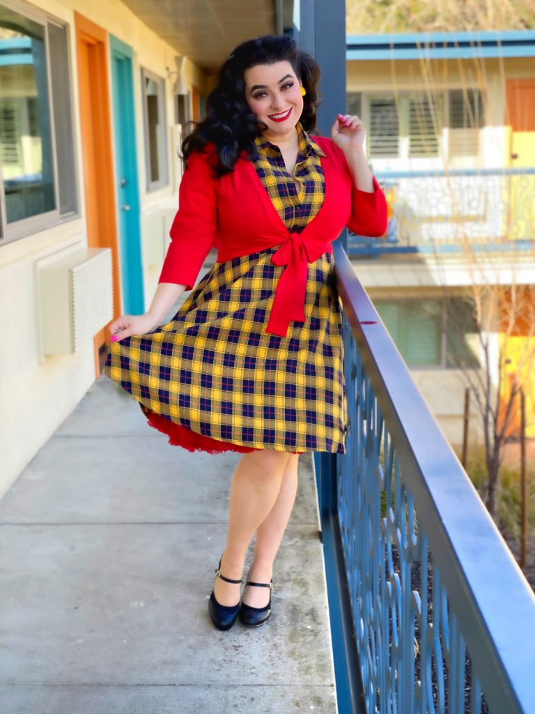 Yasmina Greco The Astro Motel in Sourpuss Clothing
