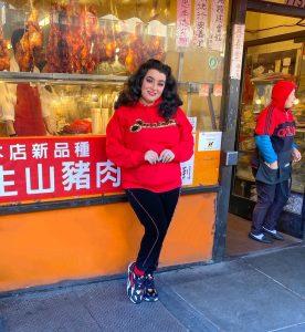 Yasmina Greco Puma Chinese New Year RS-X Supreme San Francisco