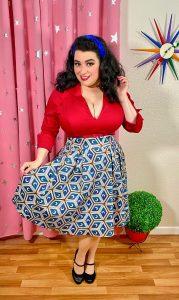 Yasmina Greco Crazy4Me Pinup Girl Clothing Mid-Century Modern 1950s 1960s