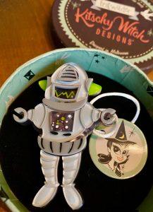 Robert the Rational Robot Erstwilder Kitschy Witch Designs Halloween