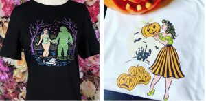 Halloween and Vintage Horror T-Shirts