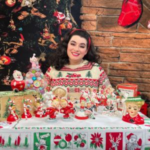 Yasmina Greco Vintage Christmas Collecting Series