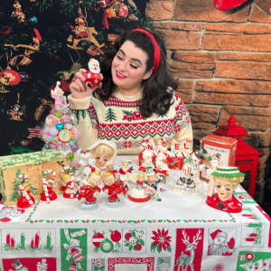 Yasmina Greco Vintage Christmas Collecting Series