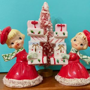 Holt-Howard Girl Candleholders