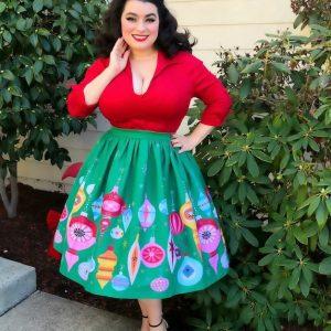 Yasmina Greco Retro Christmas Fashion