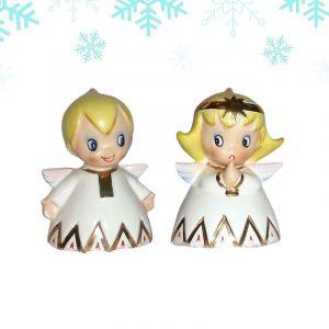 Lefton Christmas Angel Bells
