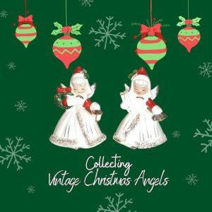 Vintage Norcrest Christmas Angels