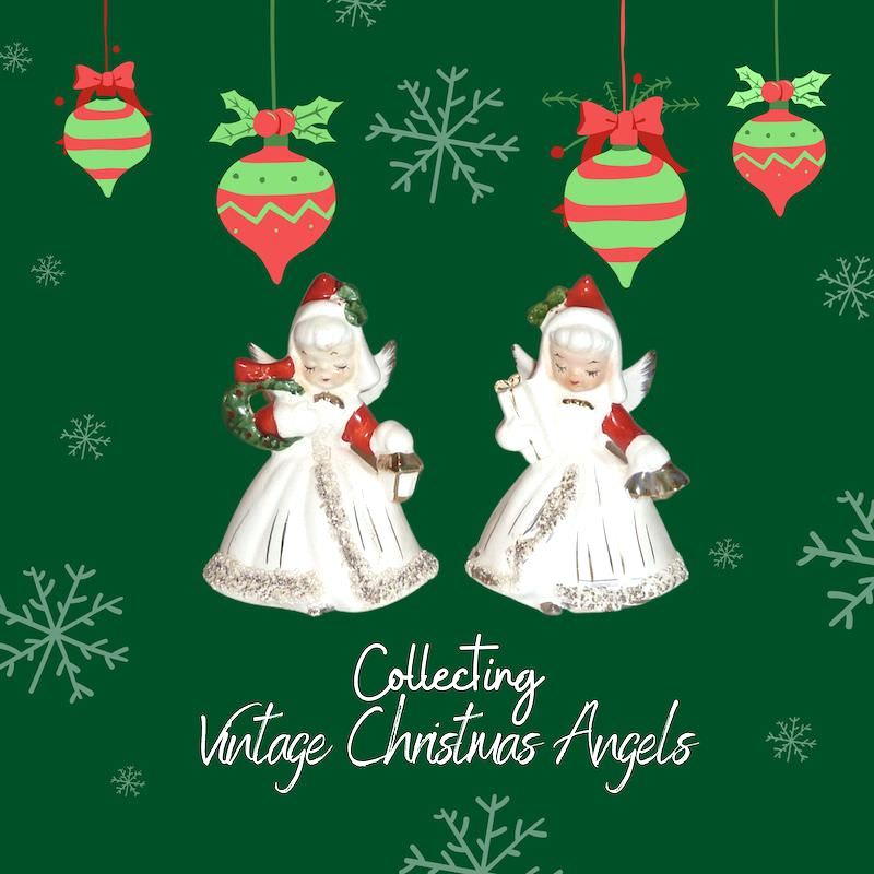 Vintage Norcrest Christmas Angels