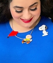 Charlie Brown Peanuts Necklace
