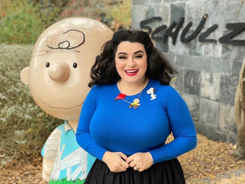 Yasmina Greco Charlie Brown Snoopy Peanuts Schulz Museum