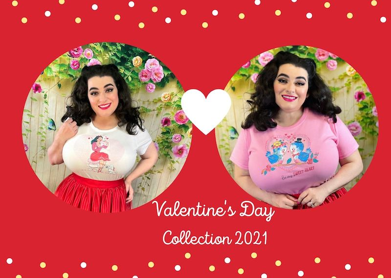Crazy4MeStyle Valentine's Day T-Shirt Collection