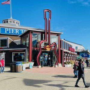 Pier 39 San Francisco Hard Rock Cafe