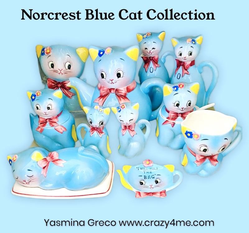 Norcrest Blue Cat Collection