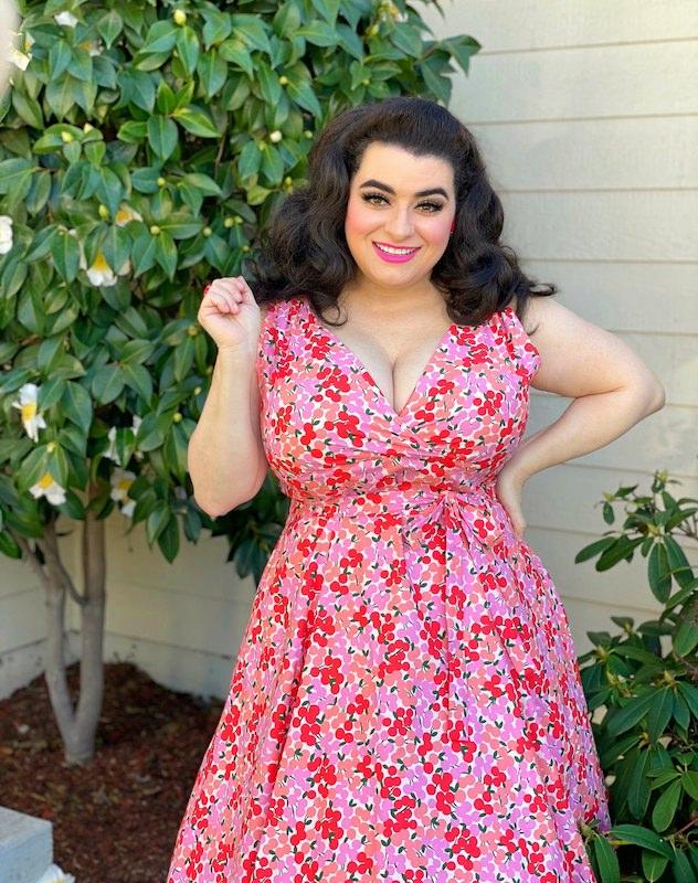 Yasmina Greco Spring Wrap Dress