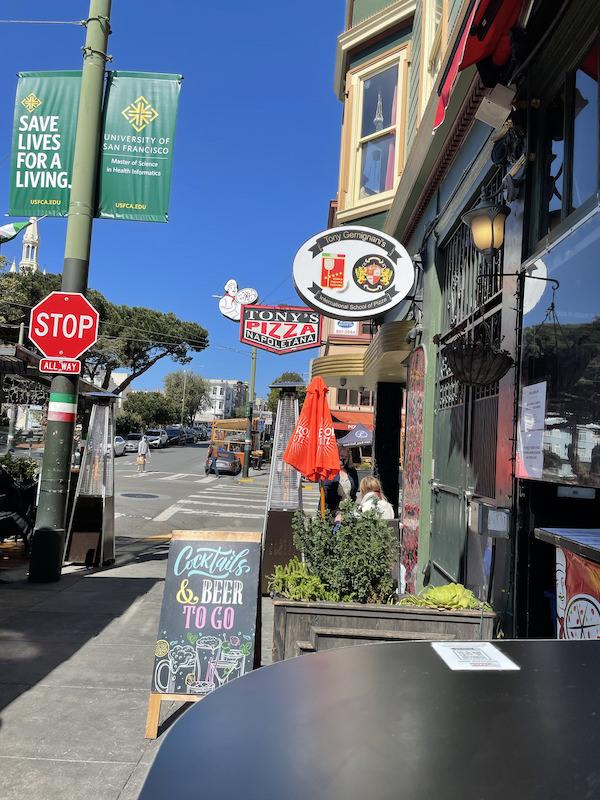 Tony's Pizza Napoletana San Francisco Little Italy