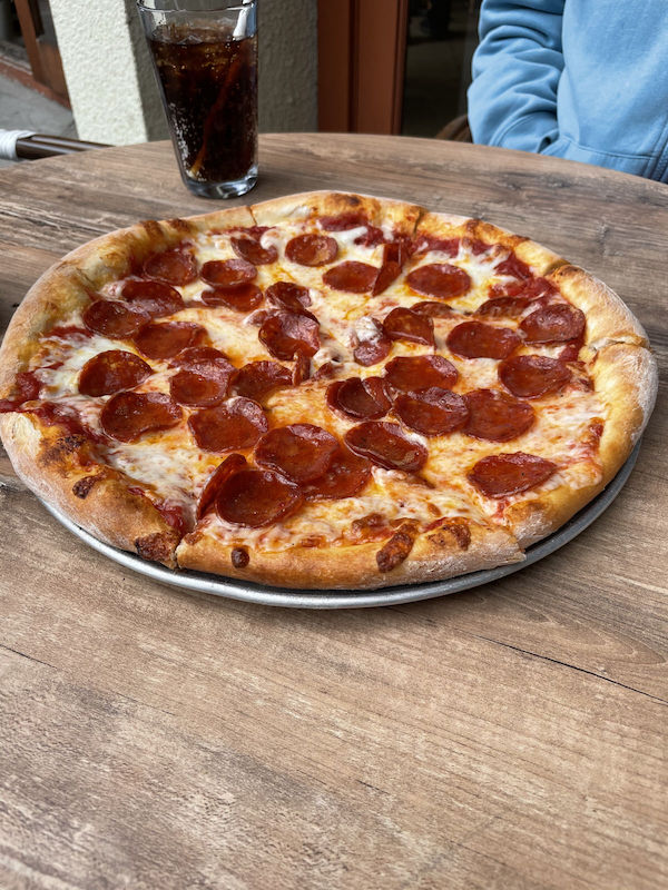 Fisherman's Pizza San Francisco Pepperoni