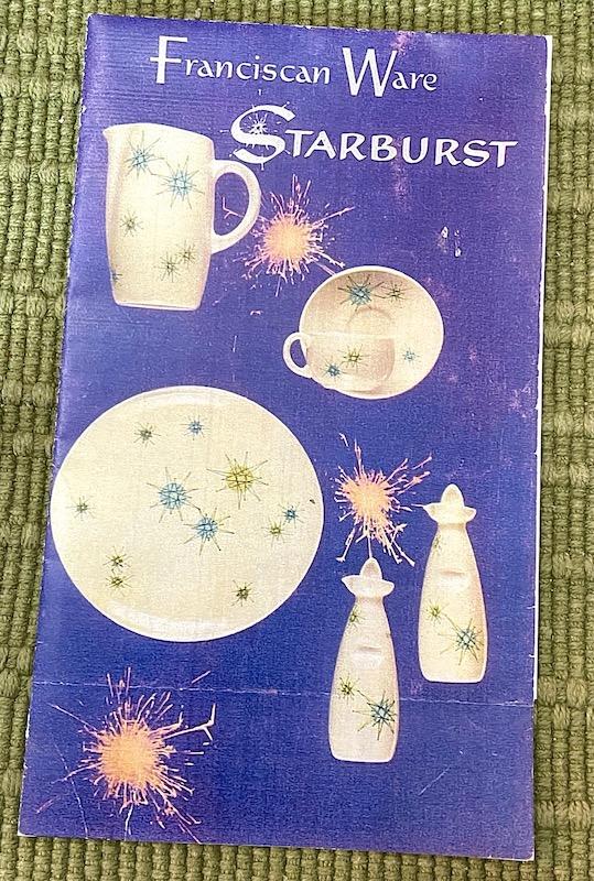 Franciscan Ware Starburst Dinnerware