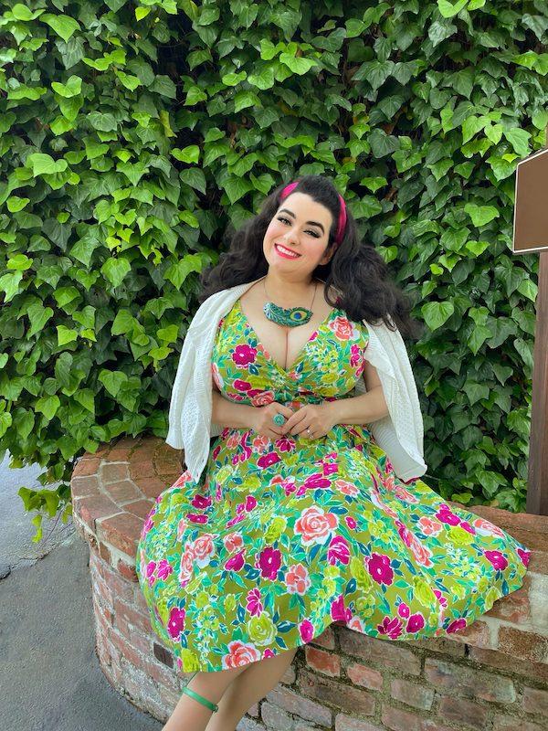 Summer Dress Pinup Yasmina Greco