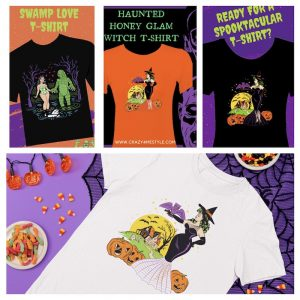 2021 Retro Halloween T-Shirt Collection