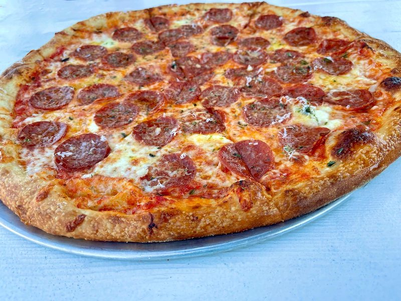 New York Style Pepperoni Pizza