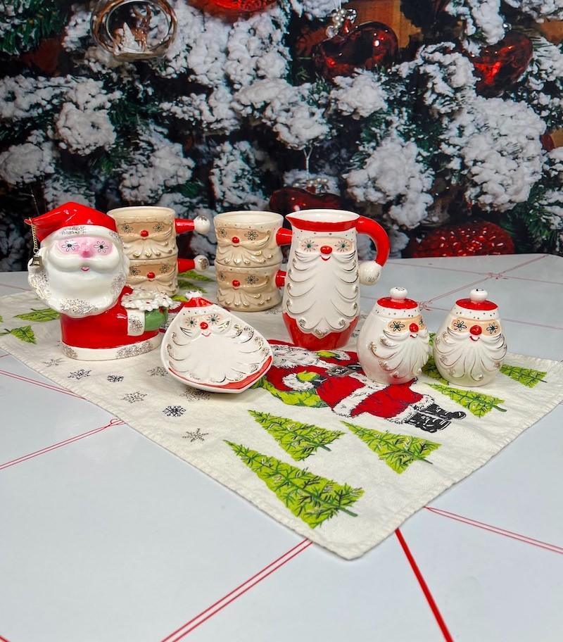 Holt-Howard Starry Eyed Santa Collection