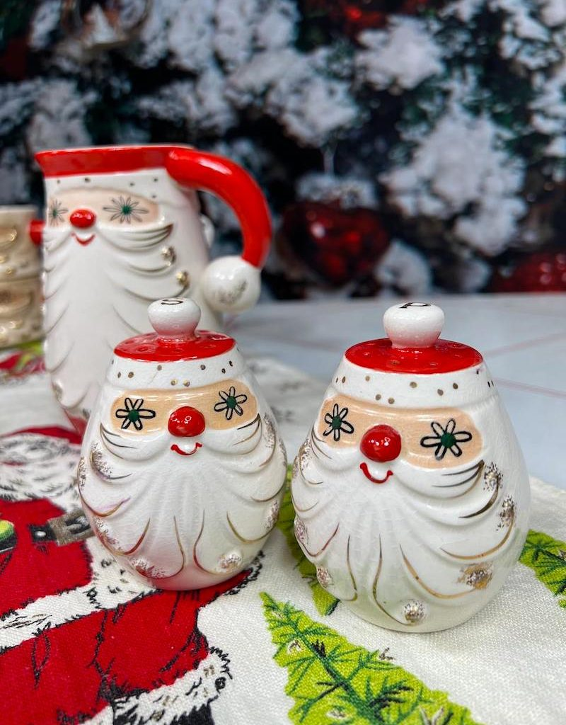 Holt-Howard Starry Eyed Santa Salt and Pepper Shakers